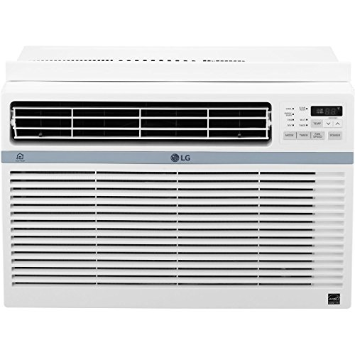 LG LW1217ERSM Energy Star 12,000 BTU 115V Window Mounted Air Conditioner with Wi-Fi Control (Renewed)