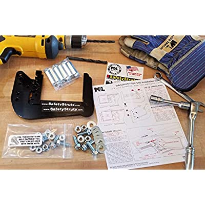Mount-n-Lock SafetyStruts Prevent RV Bumper Failure TM (SNU-Universal, Black): Automotive