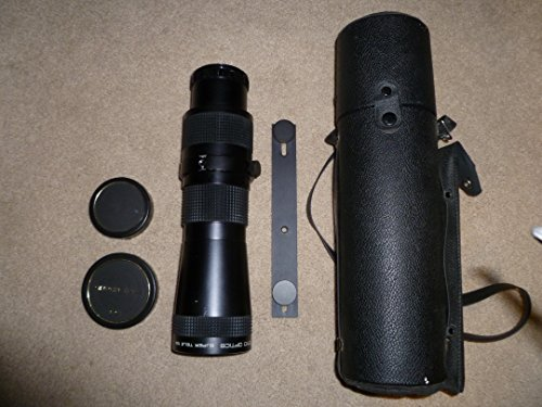 Toyo Optics Super Tele 10X Vintage Telephoto Lens with Case and Mounting Bar, without Camera - Lens Camera Toyo