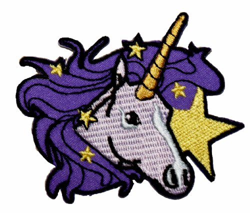 Unicorn Embroidered Iron Applique Patch product image