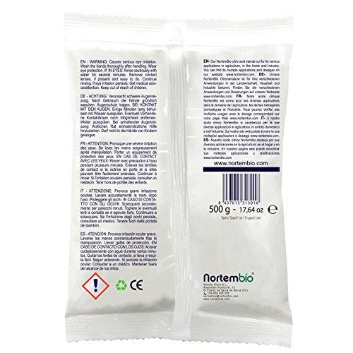 430a25af0d5 ▷ Avis et Test   Acide Citrique NortemBio 1 kg (2x500g). Qualité ...