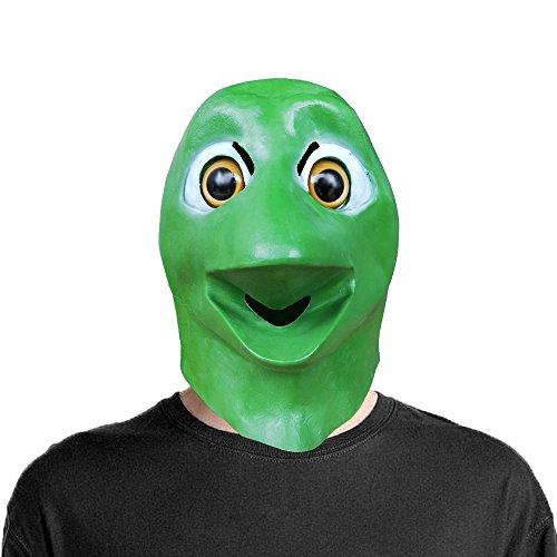 Lubber Frog Alien Head Mask Latex Toy Animal Mask Halloween -