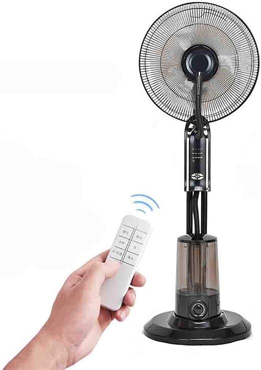 Nebulizador de Agua Niebla en el hogar Ventilador del Piso de ...