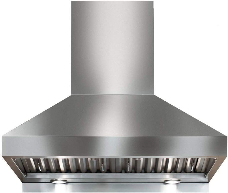 Professional Range Hood with Rotary Switches, Victory Twister (750CFM) (30 Inch)