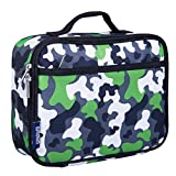 Wildkin Lunch Box, Green Camo