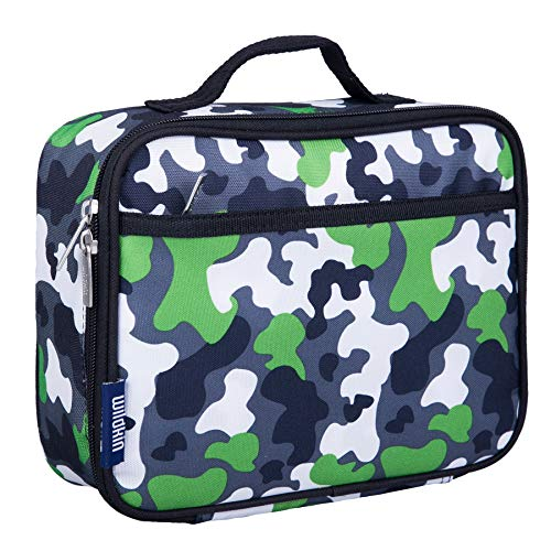 - Wildkin Lunch Box, Green Camo