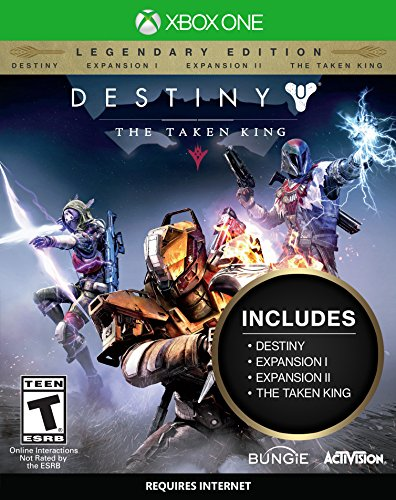 Destiny: The Taken King – Legendary Edition   Destiny: The Taken King Legendary Edition includes Destiny, Expansions I and II, and The Taken King at one great price. It also includes a character boost to get you immediately battle ready. Incl...