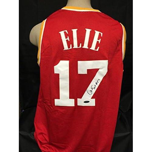 b7f232456 Autographed Mario Elie Jersey - hologram   coa - Tristar Productions  Certified - Autographed NBA Jerseys