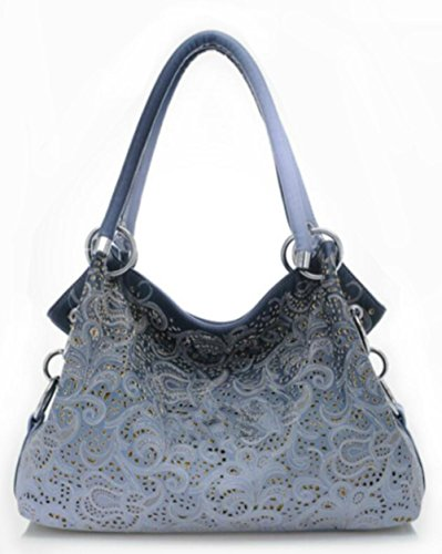 CHAOYANG-Tempo libero big bag femminile pendolari cave scavate retrò Messenger bag borsa a tracolla donna