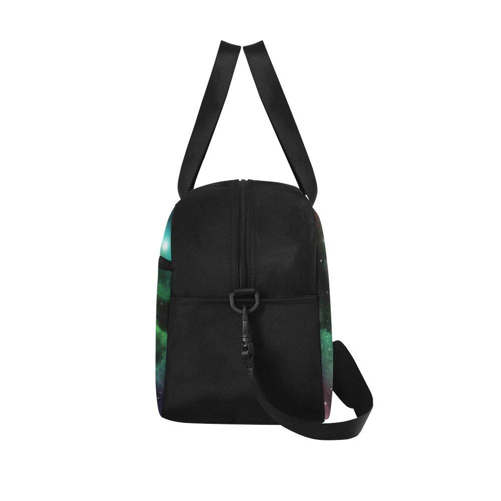 InterestPrint Zodiac Leo Galaxy Lion Duffel Bag Travel Tote Bag Handbag Luggage by InterestPrint (Image #4)