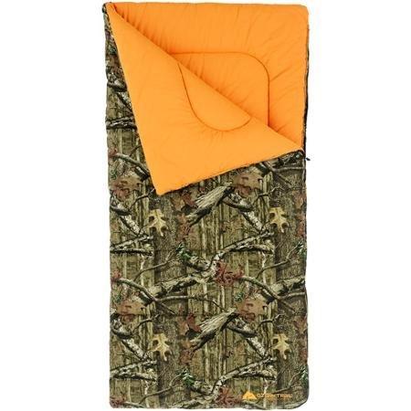 Ozark Trail x Mossy Oak Canvas 20-Degree Heavy Duty Sleeping Bag