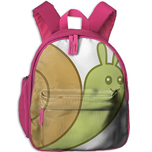 (Animated Snail Clipart Unisex-child Funny Shoulder Bag Printed Boys & Girls School Book Bag)