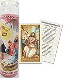 Oracion a San Alejo Tarjeta Plastificada Viene Con Veladora O Sola (2)