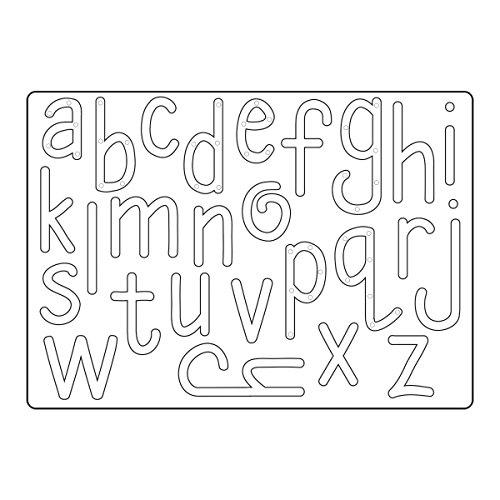 Sizzix Homemade Alphabet Thinlits - Sizzix Alphabet