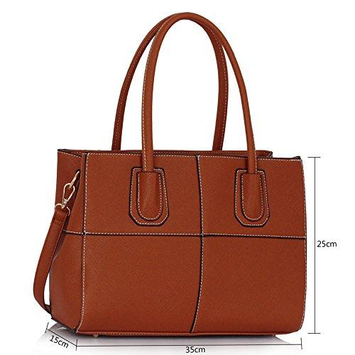 ANNA GRACE - Bolsa Mujer Design 3 -Brown