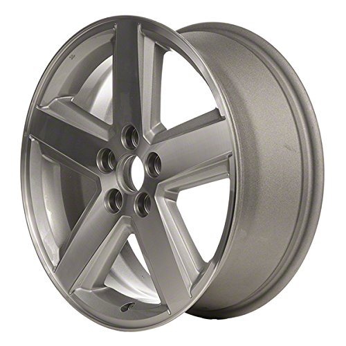 18'' Machined And Silver Refurbished OEM Wheels for 08-10 DODGE AVENGER