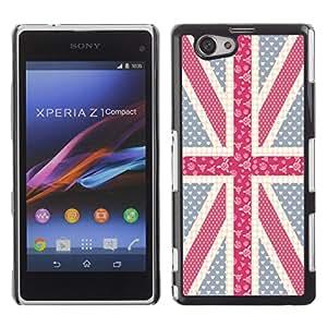 Jordan Colourful Shop - FOR Xperia Z1 Compact D5503 - thin transparent memory - Personalizado negro cubierta de la caja de pl??stico
