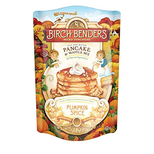 Birch Benders Griddle Cakes, Mix Pancake Pumpkin Spice, 16 Ounce