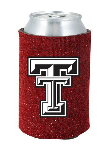 (Kolder Texas Tech Red Raiders Glitter Can Insulator)