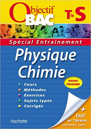 objectif bac - entrainement - physique-chimie terminale s (French) Paperback