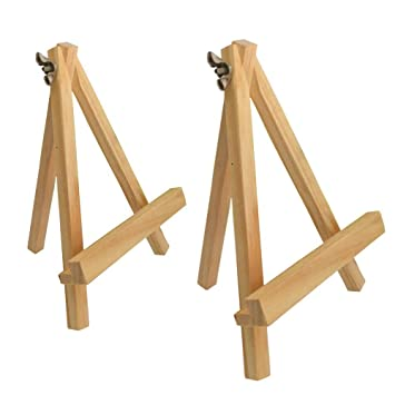 amazon 15cm wooden mini tripod easel colour talk 15cm wooden