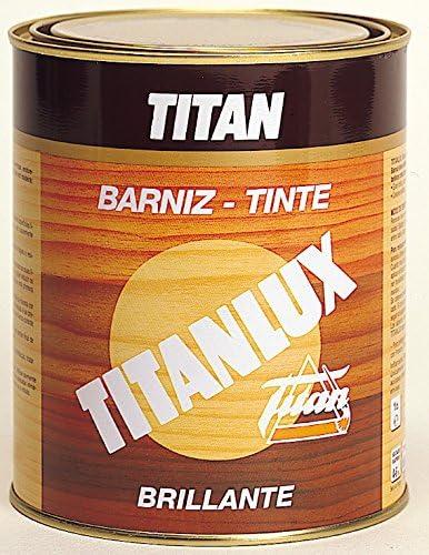 Titanlux M41906 - Barniz tinte brillante para madera 125ml ...