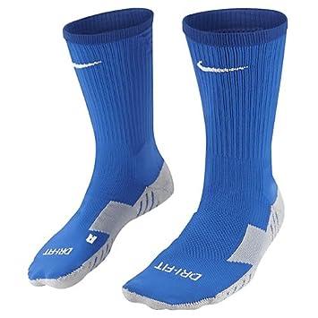 Nike Team MatchFit Core Crew Sock - Calcetines de fútbol unisex, azul / blanco, 42-46: Amazon.es: Deportes y aire libre
