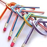 30pcs Soft Flexible Bendy Pencils Magic Bend Kids Children School Fun Equipment by AHG