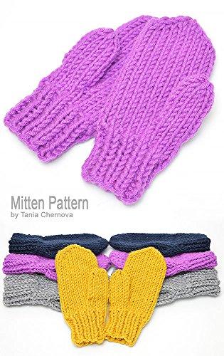 Mitten Pattern Womens Mittens Pattern Mens Mittens Knitting