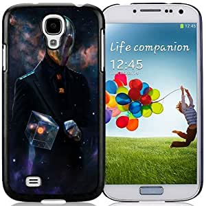 Unique and Fashionable Cell Phone Case Design with Mystery Spaceman Galaxy S4 Wallpaper
