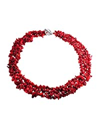 Bling Jewelry Bling Jewelry Multi Strand Gemstone Chips Necklace