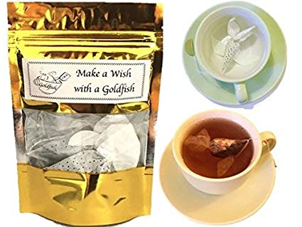 tea gift set 3 tea samples gift goldfish tea bags earl grey rose tea gift