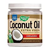Nature's Way Organic Extra Virgin Coconut Oil- Pure, Cold-pressed, Organic, Non-GMO, (Two Pack - 32 Ounce)