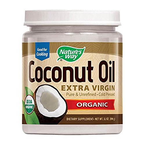 Nature's Way Organic Extra Virgin Coconut Oil- Pure, Cold-pressed, Organic, Non-GMO, (Two Pack - 32 Ounce) by Nature's Way (Image #7)