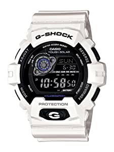 Casio Men's GR8900A-7 G-Shock Tough Solar Digital White Resin Sport Watch