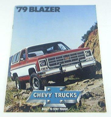 1979 79 Chevrolet Chevy BLAZER Truck BROCHURE C10 K10 2wd Suv
