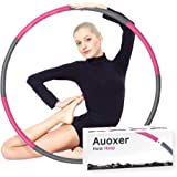 Auoxer Fitness Exercise Weighted Hoola Hoop, Lose Weight by Fun Way to Workout, Fat Burning Healthy Model Sports Life, Detach