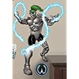 "FATHEAD Jr. Whiplansh Marvel Iron-Man Villain Officially Licensed Vinyl Wall Graphic 30""x22"" INCH"