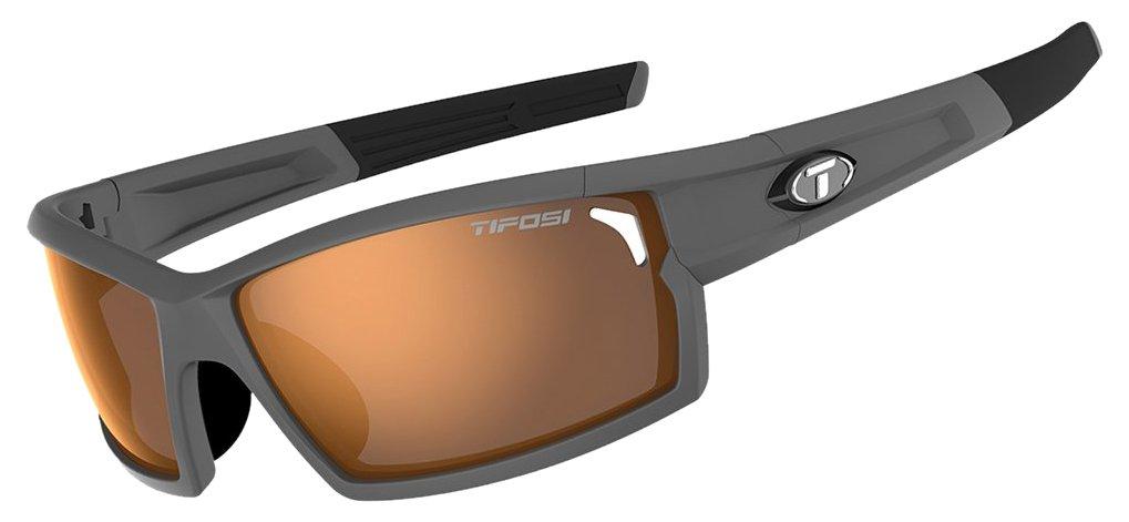 Tifosi 2016 Camrock Sunglasses, Matte Gunmetal, Brown by Tifosi