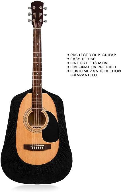 Vitihipsy - Funda protectora de terciopelo para guitarra acústica ...