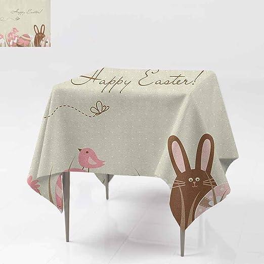 DUCKIL Elegance - Mantel de diseño Animado con Formas de Huevo ...