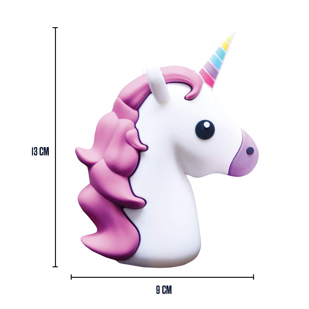 Mikamax - Emoji Unicorn Powerbank Mini: Amazon.es: Electrónica