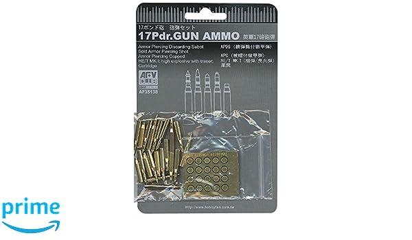 Gun in 1:35 AFV CLUB 35138 Ammo for 17Pdr