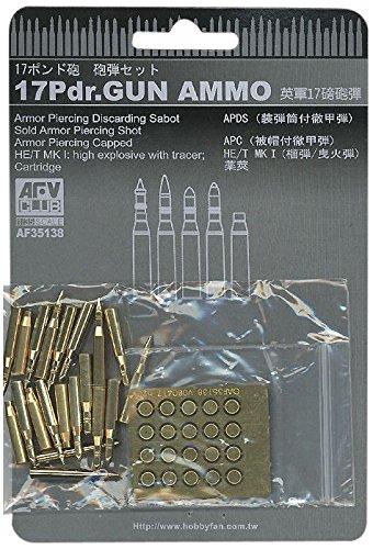(Gun Ammo, Brass 17 Pounder 1-35 AFV Club)