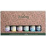 Woolzies Gift Set of 6 Popular Essential Oils, Lavender, Sweet Orange, Lemon, Eucalyptus Citradora, Peppermint & Tea Tree
