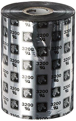 Zebra WR110x450C1-1ZZ4 Thermal Transfer Wax-Resin Ribbon, 4.33