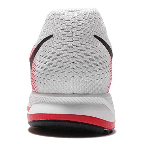Zoom Nike Black Red Pegasus Air da Action Ginnastica Uomo 33 600 Pure Scarpe Platinum Rosso UqqTw5r