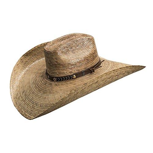 Brick Crown Lawn Ranger Hat by Turner (High Crown Cowboy Hat)