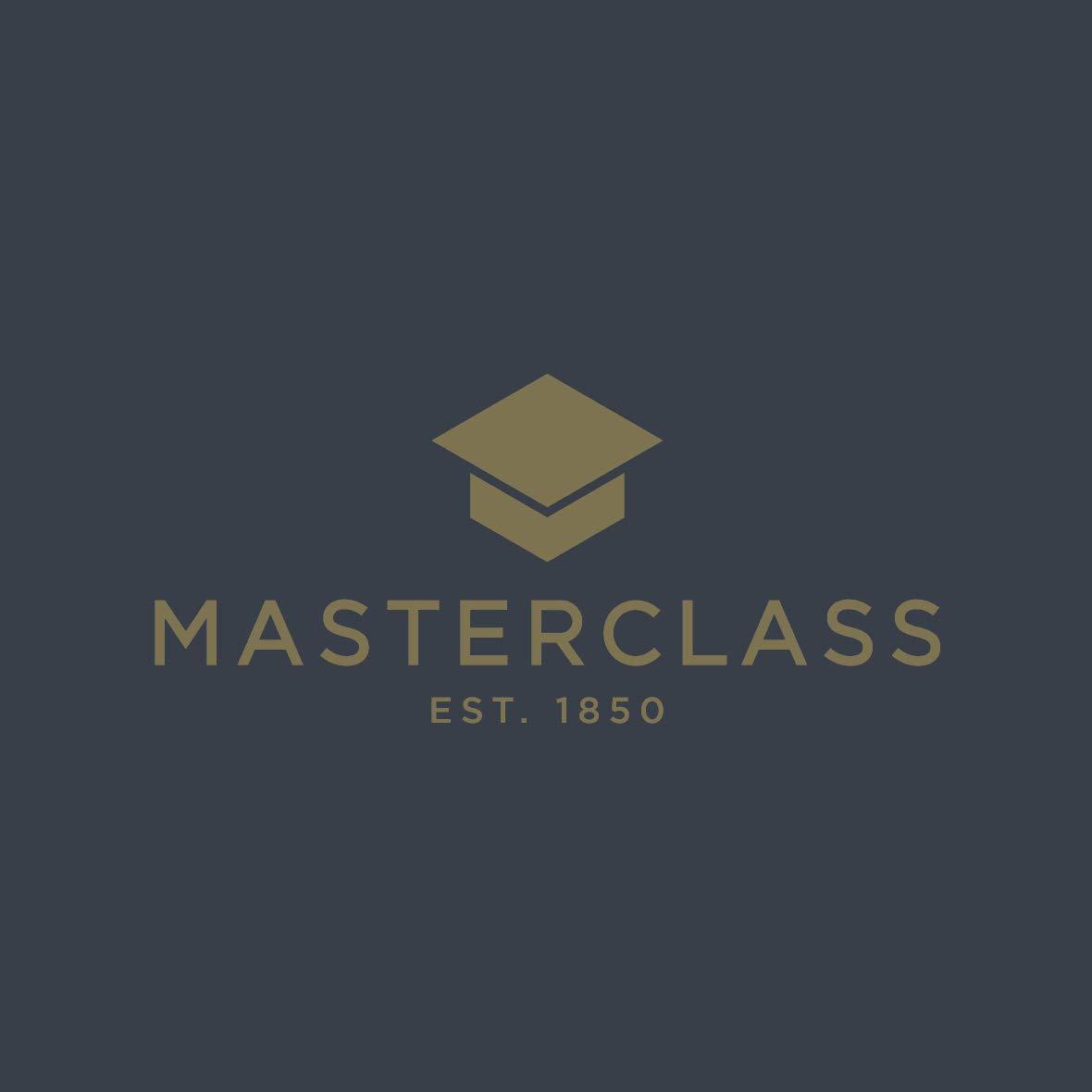 MasterClass MCSGNWCS Tortenheber mit Schneider und Soft-Grip-Griff Schwarz Edelstahl