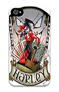 iPhone 4S Cases VUTTOO Harley Quinn Super Polycarbonate Hard Case Back Cover for iPhone 4S